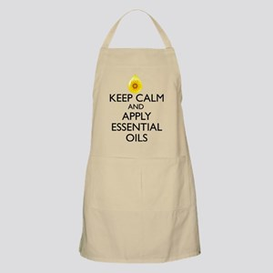 Keep Calm and Apply Essential Oils Apron