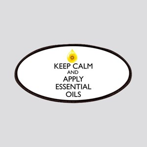 Keep Calm and Apply Essential Oils Patches
