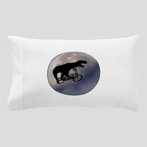 T-Rex vintage moon Pillow Case