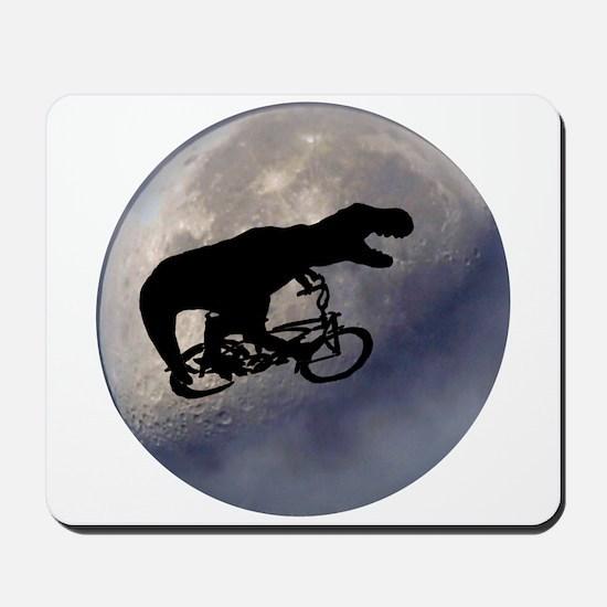 T-Rex vintage moon Mousepad