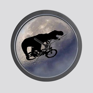 T-Rex vintage moon Wall Clock
