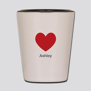 Ashley Big Heart Shot Glass