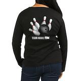 Bowling Long Sleeve T Shirts