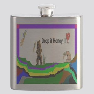 Drop It Honey Flask