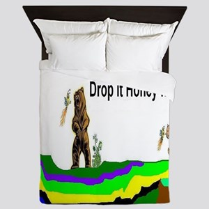 Drop It Honey Queen Duvet
