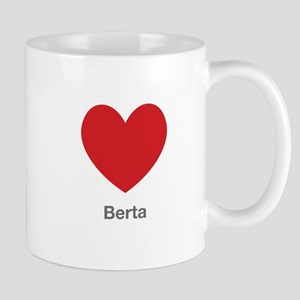Berta Big Heart Mug