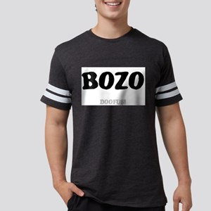 BOZO - DOOFUS! Mens Football Shirt