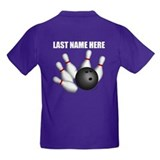 Bowling Kids T-shirts (Dark)