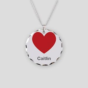Caitlin Big Heart Necklace