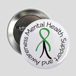 "Mental Health Stick Figure 2.25"" Button"
