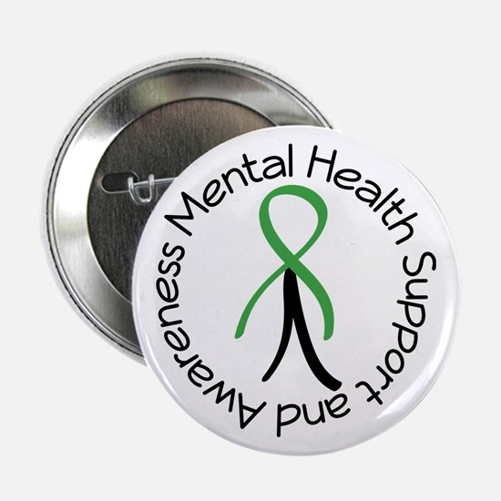"Mental Health Stick Figure 2.25"" Button"