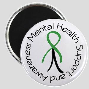 Mental Health Stick Figure Magnet