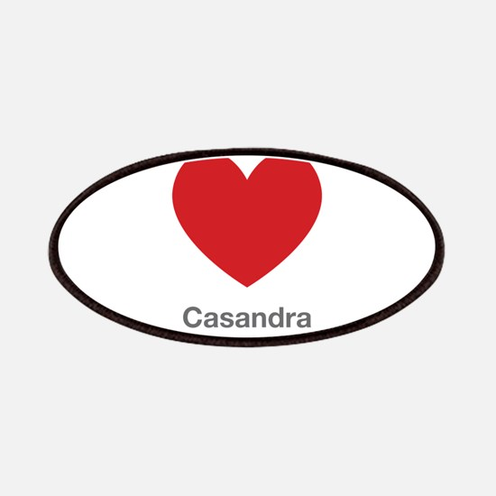 Casandra Big Heart Patches