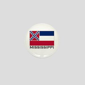 Mississippi Flag Stuff Mini Button