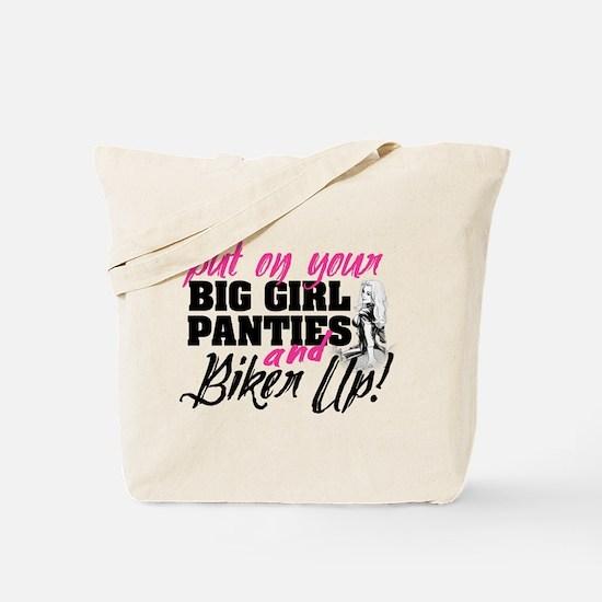 Biker Up Tote Bag