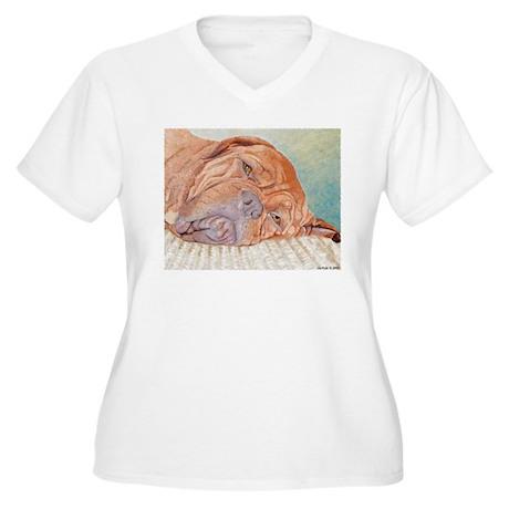BordeauxafternoonB Plus Size T-Shirt