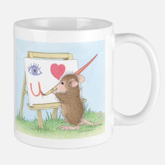 I love you with all my Art Mug