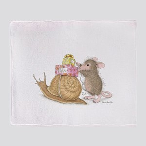 Snail Mail Throw Blanket