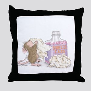 Sneeze Ease Throw Pillow
