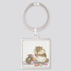Sweet Friends Square Keychain