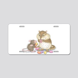 Sweet Friends Aluminum License Plate