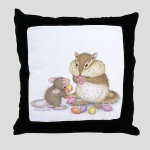 Sweet Friends Throw Pillow