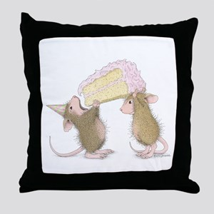A Piece of Cake Throw Pillow