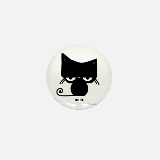 Meh Cat Mini Button