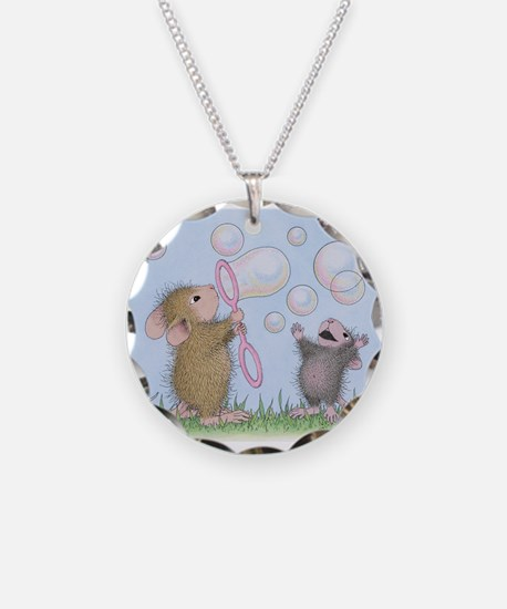Bubble Blowing Buddies Necklace