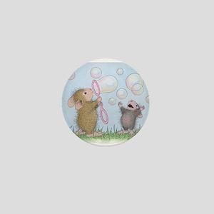 Bubble Blowing Buddies Mini Button