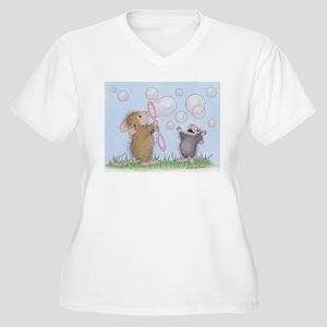 Bubble Blowing Buddies Plus Size T-Shirt