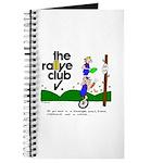 Journal w/ unicycle cartoon