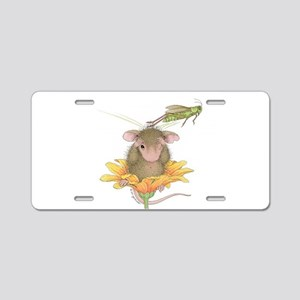 Bug Off - Bounce Off Aluminum License Plate