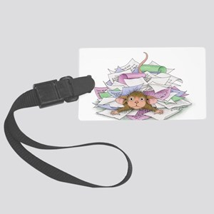 Work, work, work Large Luggage Tag