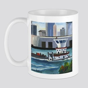 On the River In New Orleans Mug