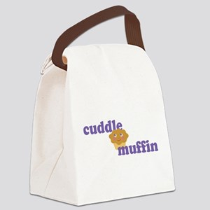 Cuddle Muffin Canvas Lunch Bag
