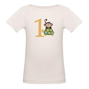 Boys First Birthday Organic Baby T Shirts