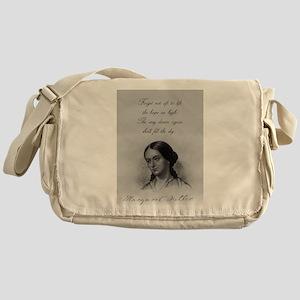 Forget Not Oft To Lift - Fuller Messenger Bag