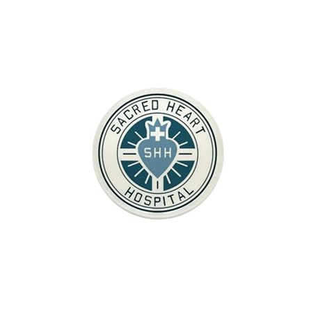 Sacred Heart Hospital Mini Button
