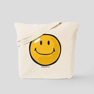 smug smiley Tote Bag