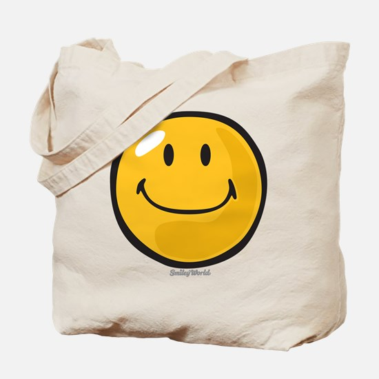 smug smiley Tote Bag