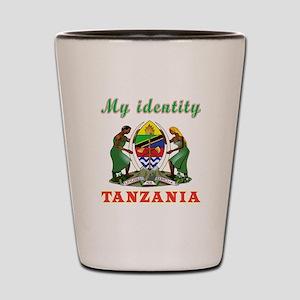 My Identity Tanzania Shot Glass