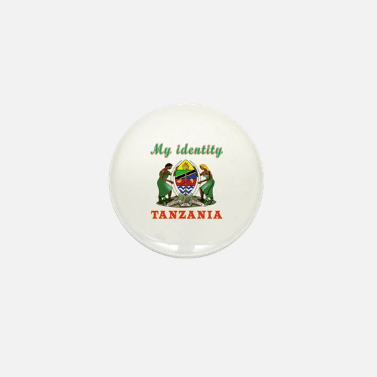 My Identity Tanzania Mini Button