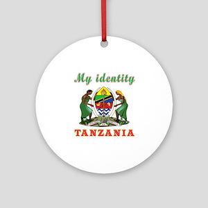 My Identity Tanzania Ornament (Round)