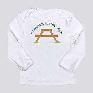 Campers Picnic Table Long Sleeve T-Shirt