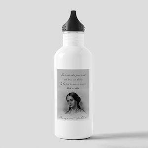 Let It Take What Form It Will - Fuller Water Bottl