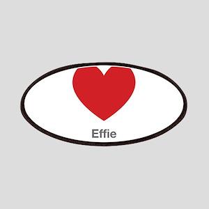 Effie Big Heart Patches