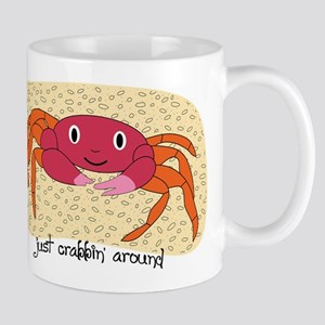 Just Crabbin Around Mug