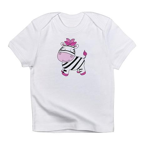 Cute Pink Zebra Infant T-Shirt