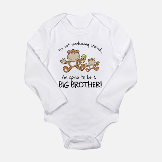big brother t-shirts monkey Body Suit